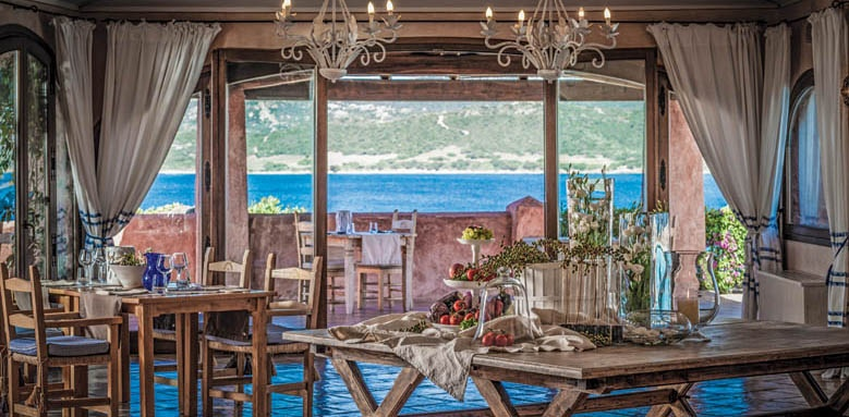 Hotel Relais Villa del Golfo & Spa, restaurant