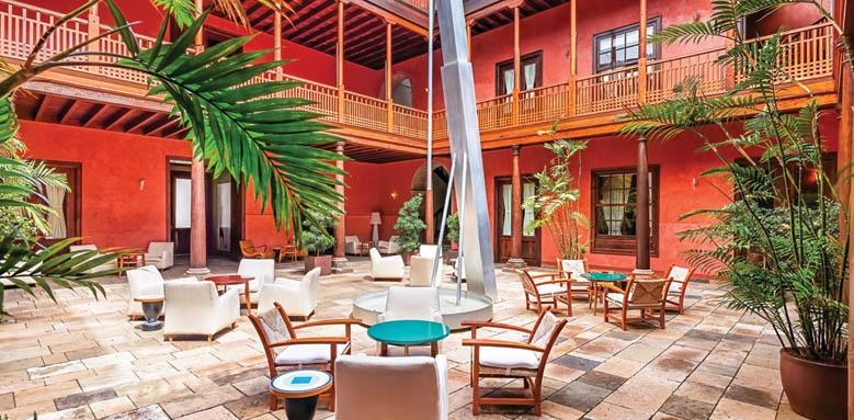Hotel San Roque, Patio