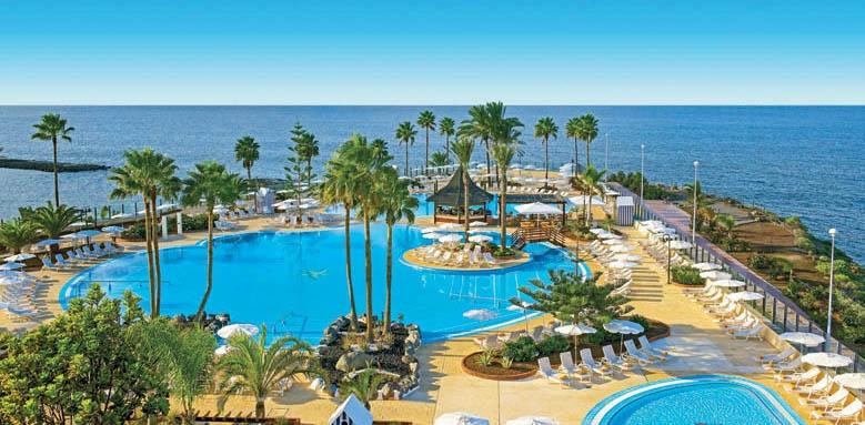 Iberostar Hotel Anthelia, hotel & pool overview
