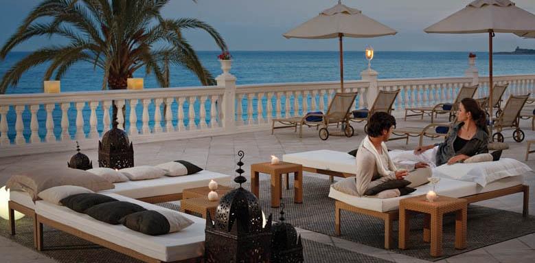 Nixe Palace, sun terrace