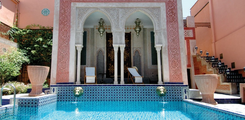 Palais Sebban, pool