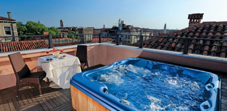 Palazzo Stern Hotel, Rooftop Terrace