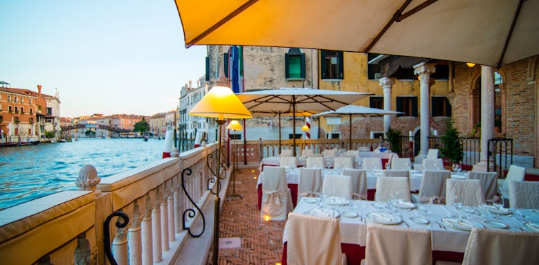 Palazzo Stern Hotel, Dining Sea View Image