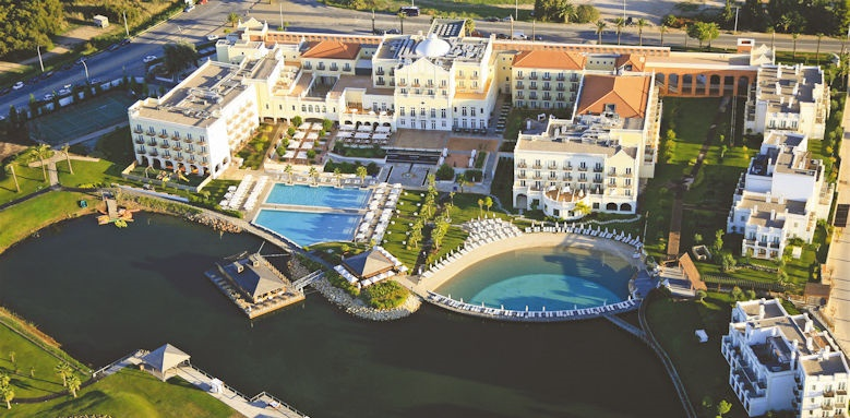 The Lake Resort, aerial view