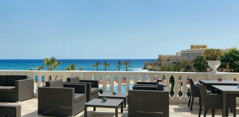 The Westin Dragonara Resort, terrace