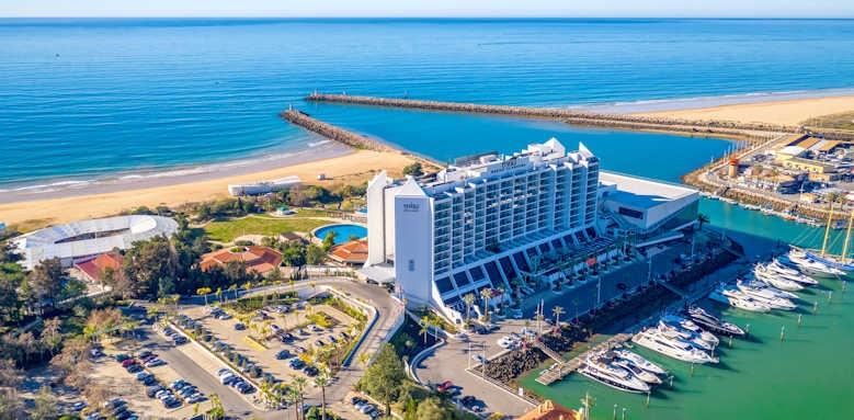 tivoli marina vilamoura, aerial view