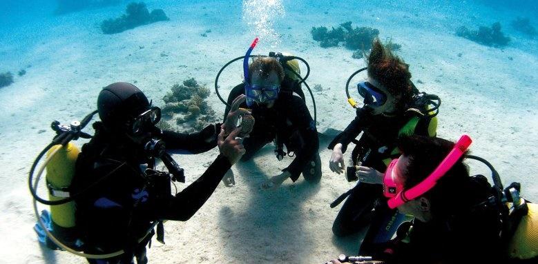 Hillside Beach Club, diving