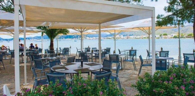 Illa D'or, restaurant terrace