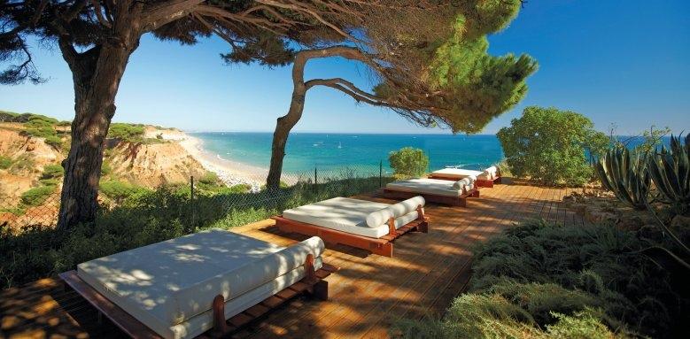 Porto Bay Falesia, sun terrace