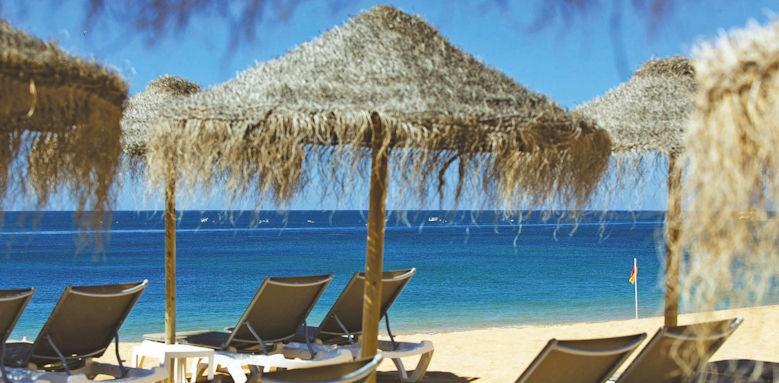Villalara Thalassa, loungers on beach