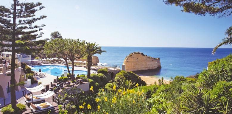 Villalara Thalassa, pool and sea view