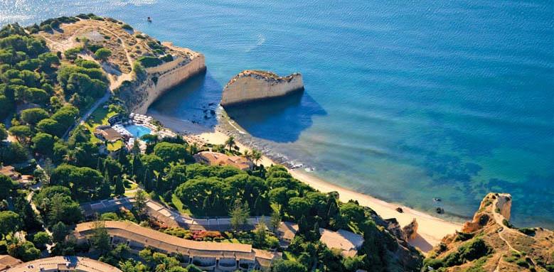 Vilalara Thalasso Resort, aerial view
