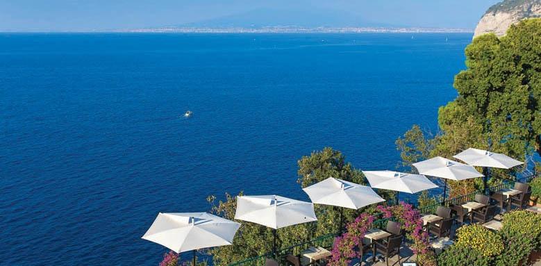 Villa Garden Hotel, terrace