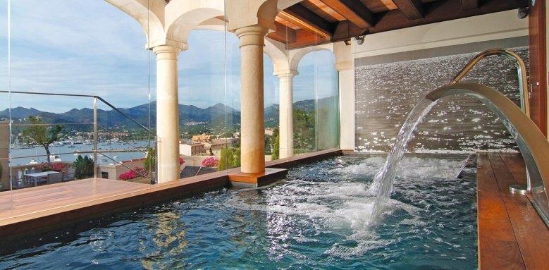 Villa Italia, spa pool
