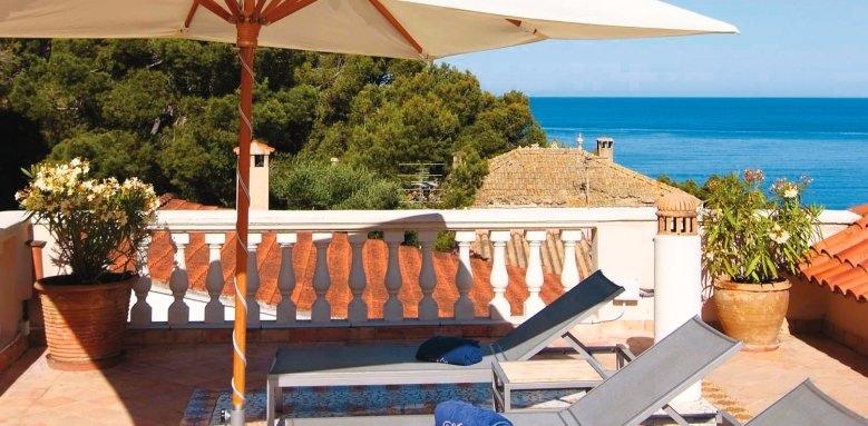 Villa Italia, sun terrace