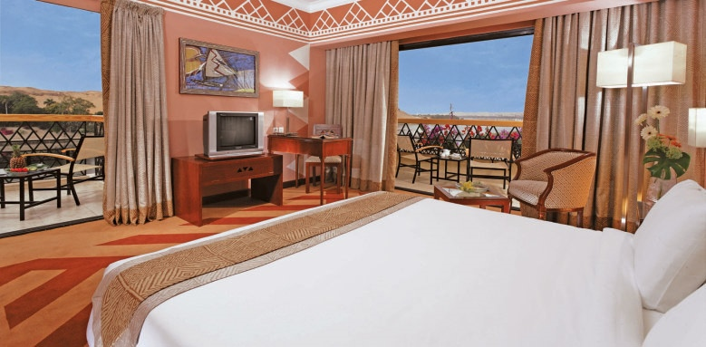 Movenpick Resort Aswan, double superior nile view