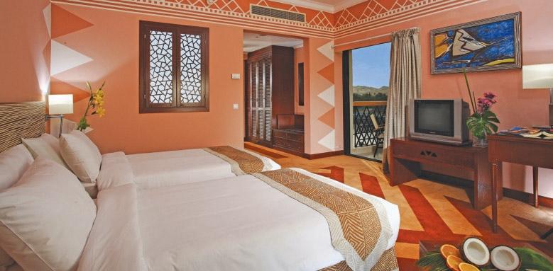 Movenpick Resort Aswan, twin superior Nile view