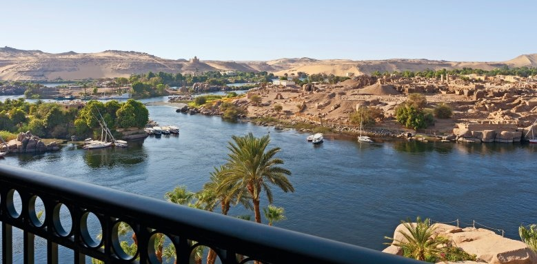 Sofitel Legend Old Cataract Aswan, river view