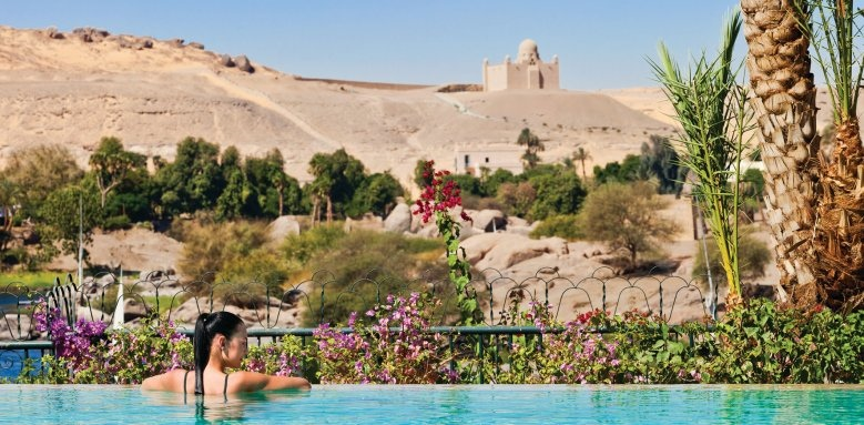 Sofitel Legend Old Cataract Aswan, infinity pool