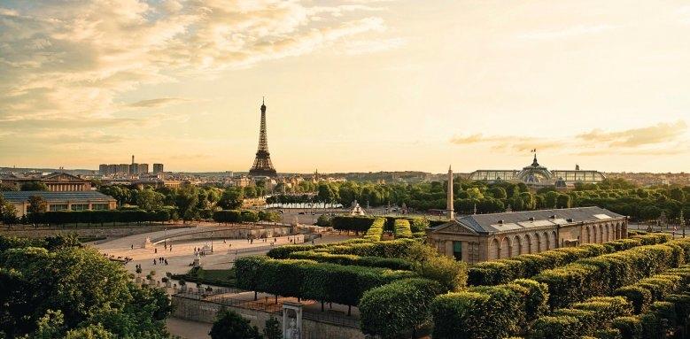 The Westin Paris - Vendome, Paris skyline