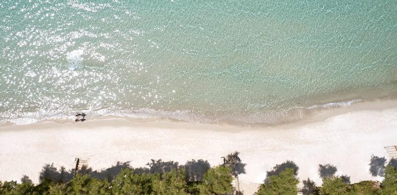 Sani club, beach