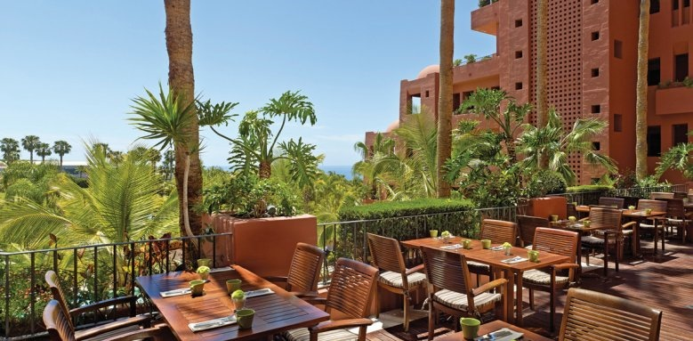 The Ritz-Carlton, Abama, la veranda restaurant