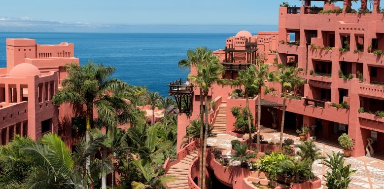 The Ritz-Carlton, Abama, high terrace view