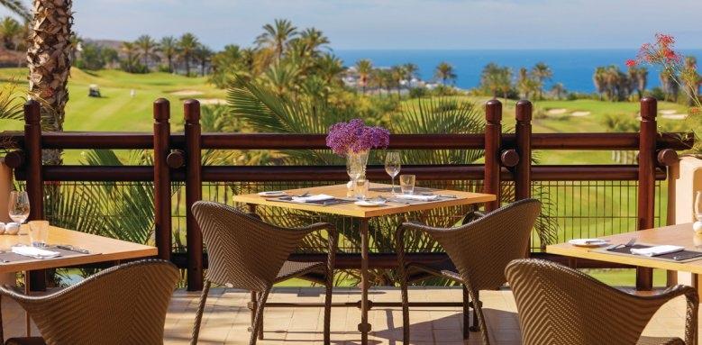 The Ritz-Carlton, Abama, club house restaurant
