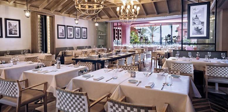 The Ritz-Carlton, Abama, verona restaurant