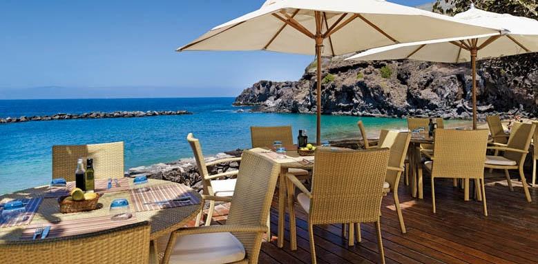 The Ritz-Carlton, Abama, beach club terrace