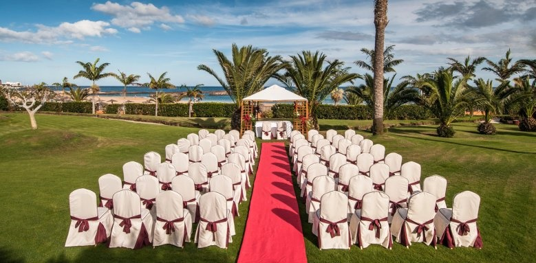 Sheraton Fuerteventura Beach, Golf & Spa Resort, garden wedding