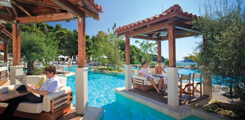 Amfora, Hvar Grand Beach Resort, pool panorama