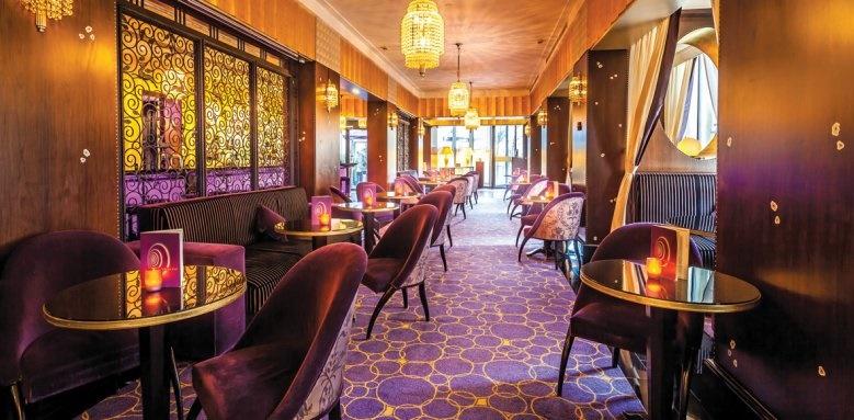 L'Hotel du Collectionneur Arc De Triomphe, Purple bar