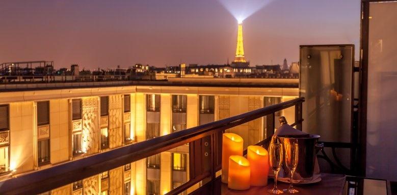 L'Hotel du Collectionneur Arc De Triomphe, View