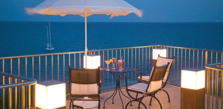 Regina Dell'Acqua Resort, terrace