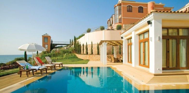 Regina Dell'Acqua Resort, pool and exterior