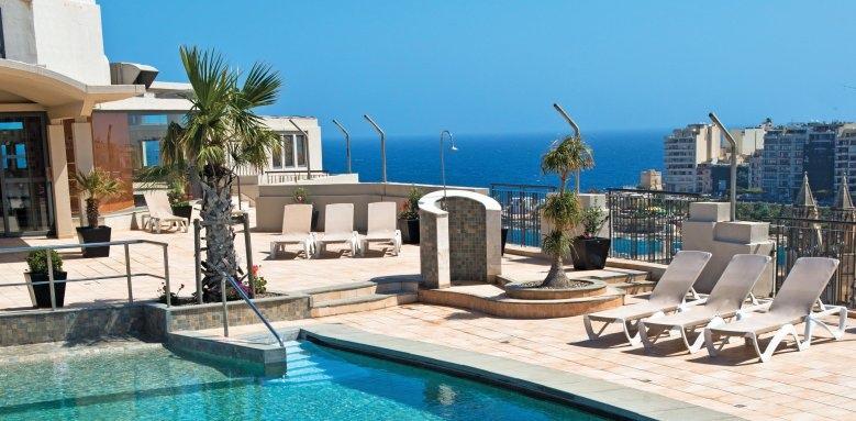 Le Meridien St Julian's Hotel & Spa, La Bajji pool