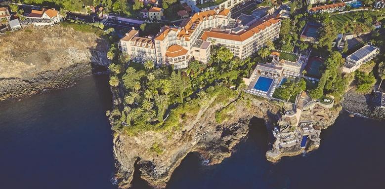 Belmond Reid's Palace, aerial view