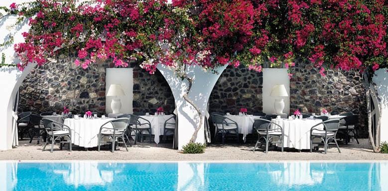 Santorini Kastelli Resort, restaurant
