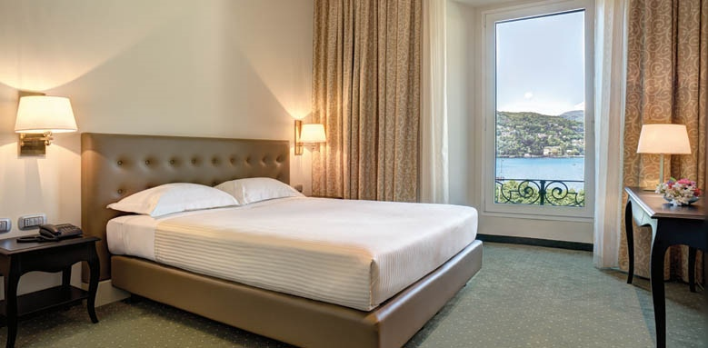Palace Hotel, room lake view
