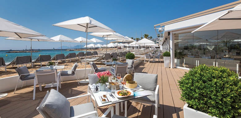 Majestic Barrire Cannes, bar terrace