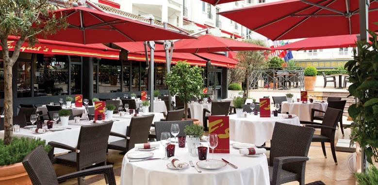Majestic Barrire Cannes, Le Fouquet's restaurant