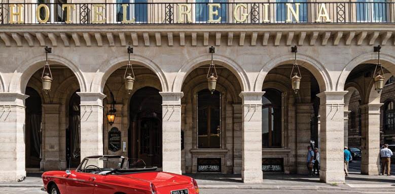 Hotel Regina, facade