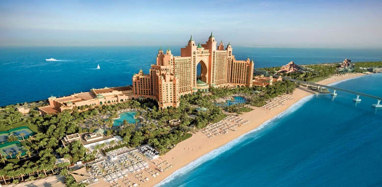 Atlantis The Palm, aerial view