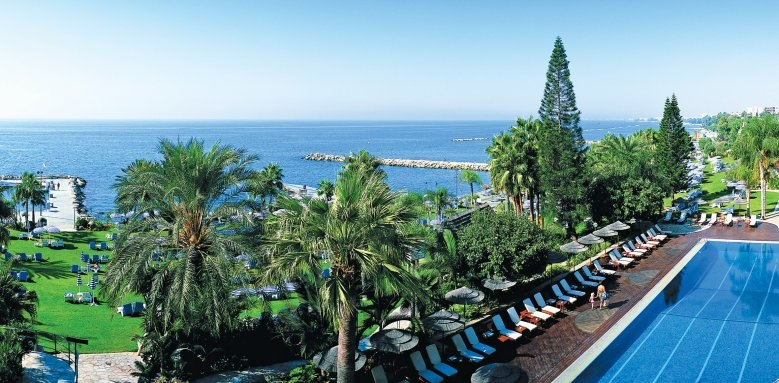 Amathus Beach Hotel Limassol, pool & sea view