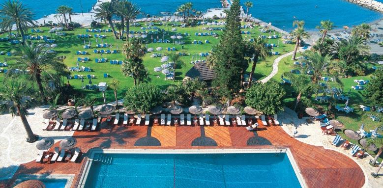 Amathus Beach Hotel Limassol, aerial view