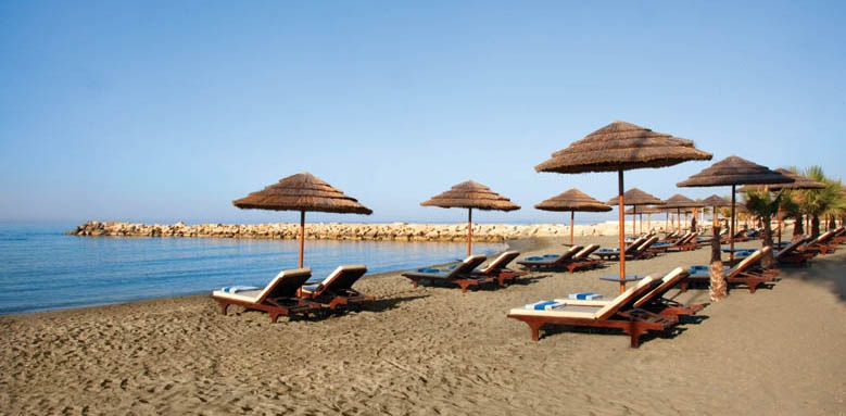 Amathus Beach Hotel Limassol, Private Beach