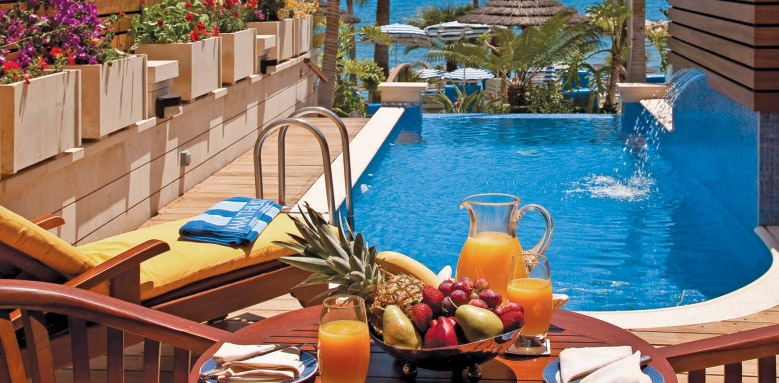 Amathus Beach Hotel Limassol, junior suite private pool