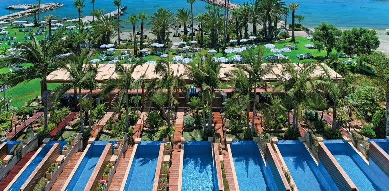 Amathus Beach Hotel Limassol, junior suites with privates pools