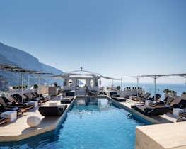 Villa Franca, pool area